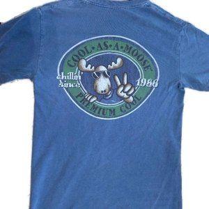Comfort Colors Bar Harbor Maine Moose T-Shirt